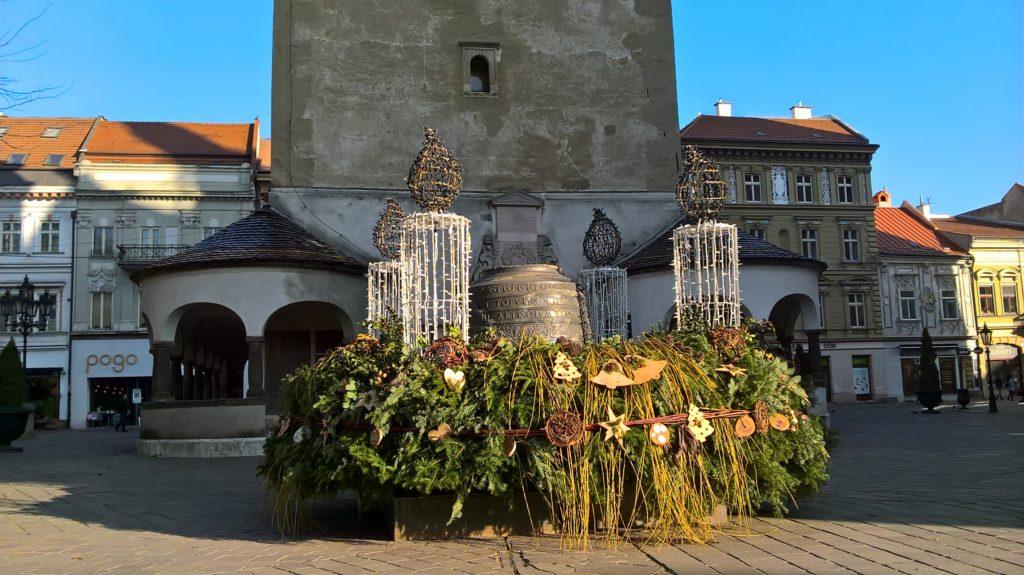Vánočně vyzdobené Košice